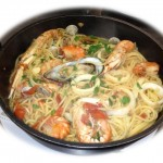 Pâtes et fruits de mer : l´Italie dans votre assiette, le solei, la mer, la Pasta...